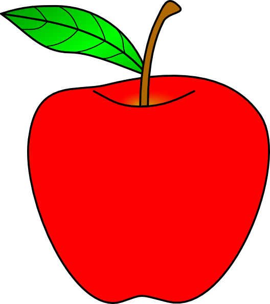 clipart picture of apple - photo #3