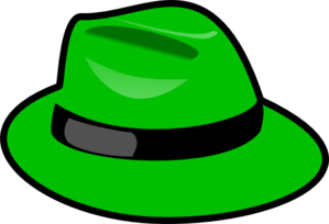 Green Hat Clip Art