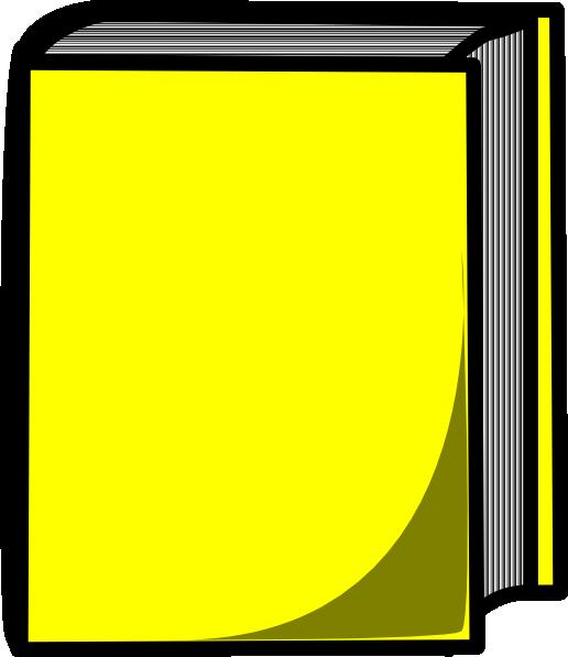 Yellow book. Clip art at clker