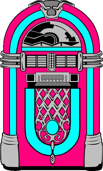 pink and blue jukebox clip art at clker com vector clip art online rh clker com jukebox music clipart jukebox clip art svg