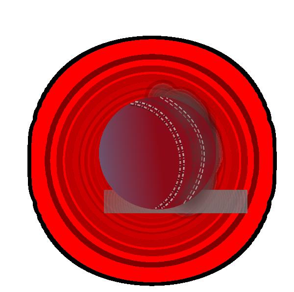 Cricket Ball.png Clip Art at Clker.com - vector clip art online ...