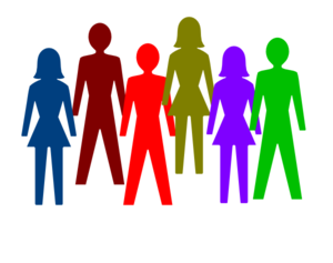 colorful group of people clip art at clker com vector clip art rh clker com group clip art in word group clipart pictures