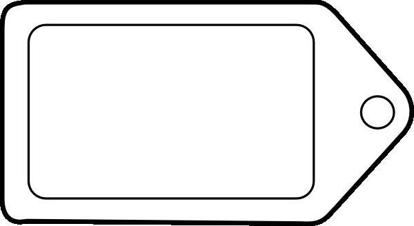 600 x 328 png 14kB, Tag Clip Art at Clker.com - vector clip art online ...