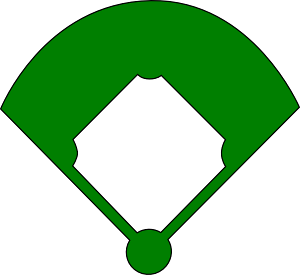 Baseball Field Clip Art at Clker.com - vector clip art online, royalty ...