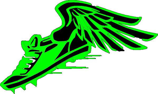 Winged Foot Clip Art 30