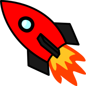 red rocket clip art at clker com vector clip art online royalty rh clker com free clipart rocket ship