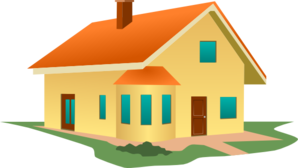 House On Angle Clip Art