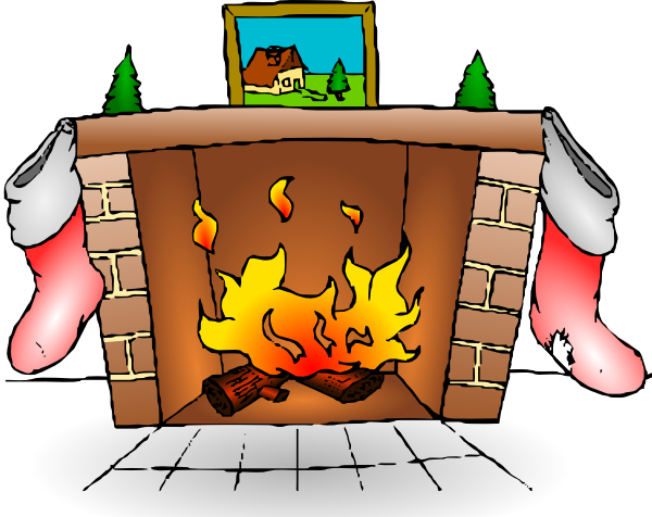 clipart fireplace - photo #17