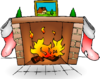 Fire Place Clip Art