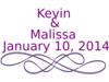 Kevin And Malissa  Clip Art