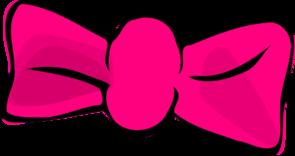 Clip Art Hair Bow Clip Art pink hair bow clip art at clker com vector online art