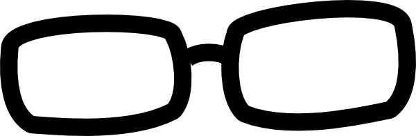 Black Frame Glasses Vector : Black Frames Clip Art at Clker.com - vector clip art ...