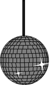 Disco Ball Two Clip Art