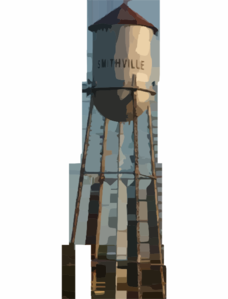 Water Tower Clip Art