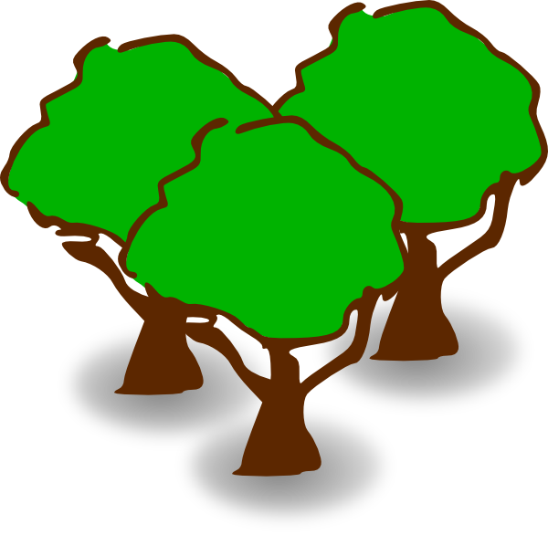 Forest Clip Art at Clker.com - vector clip art online ...