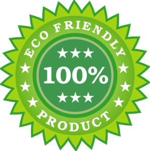 Eco Friendly Product Sticker Clip Art