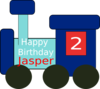 Jasper Birthday Clip Art