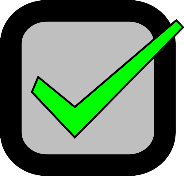 nxt checkbox checked required clip art at clker com vector clip rh clker com unchecked checkbox clipart Check Off Box Clip Art