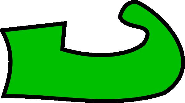 elf shoes clip art at clker com vector clip art online royalty rh clker com Elf Shoes Font Shoes SVG Elf