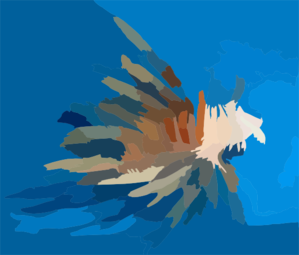 Lionfish Public Domain Clip Art