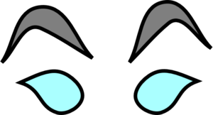 mad eyes clip art at clkercom vector clip art online