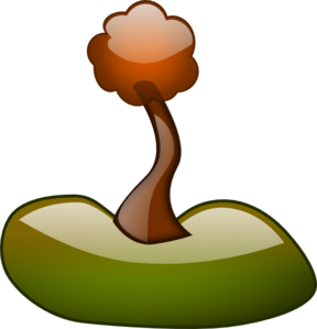 Planted Tree Clip Art