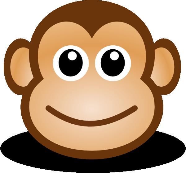 happy monkey clip art - photo #3