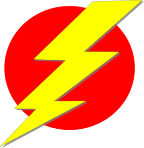 Storm Red And Yellow Clip Art