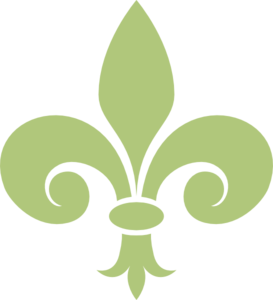 Green Lilly Clip Art