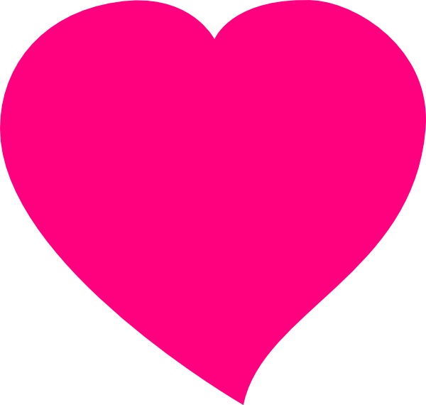 view original image  Pink Heart Outline Png