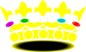 Jeweled Crown 2 Clip Art