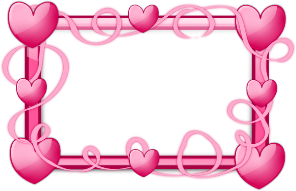 Heart Clip Art Borders and Frames