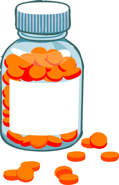 blank pill bottle rad clip art at clker com vector clip art online rh clker com Pill Bottle Clip Art Black and White medication bottle clipart