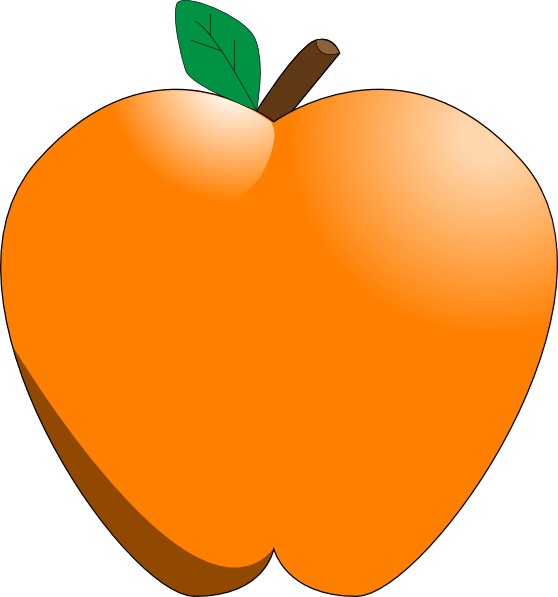 clipart apples and oranges - photo #2