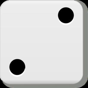 2 on a dice