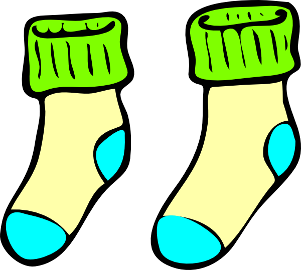 socks clip art at clker com vector clip art online royalty free rh clker com image socks clipart socks clipart black and white