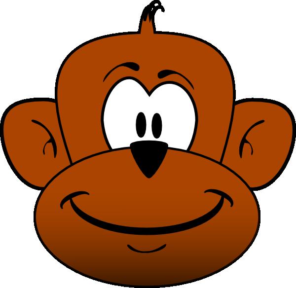 happy monkey clip art - photo #5