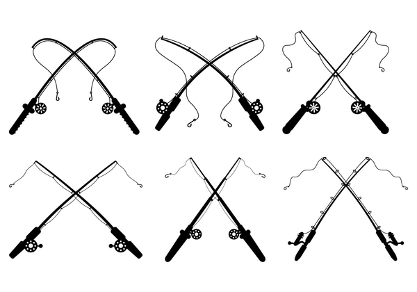 Free Clipart Fishing Rods Free Images At Clker Com Vector Clip Art Online Royalty Free Public Domain