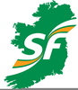 Ireland Outline Free Clipart Image