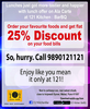 Ala Carte Offer At Kitchen Barbq Wakad Pune Image