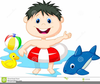 Free Swimming Clipart Kids Image