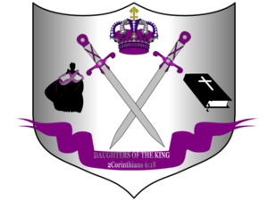 Daughters Of The King Shield Image