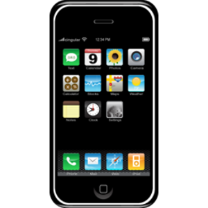 Apple Iphone Icon Image