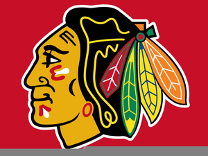 blackhawks hockey team free images at clker com vector clip art rh clker com chicago blackhawks clipart