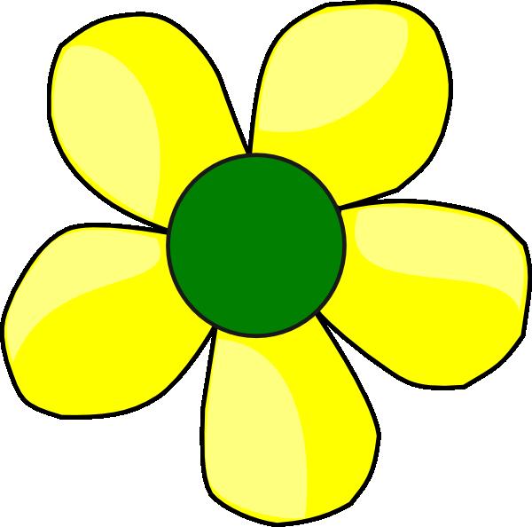 yellow flower clip art at clker com vector clip art online rh clker com yellow daisy flower clip art yellow daisy flower clip art