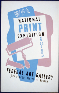 Wpa National Print Exhibition, Federal Art Gallery Image