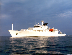 Usns Bowditch Oceanographic Survey Ship. Image