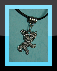 Eagle With Snake Necklace Image