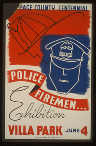 [du]page County Centennial--police, Firemen...exhibition  / Dusek. Image