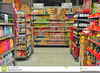 Grocery Store Aisle Clipart Image